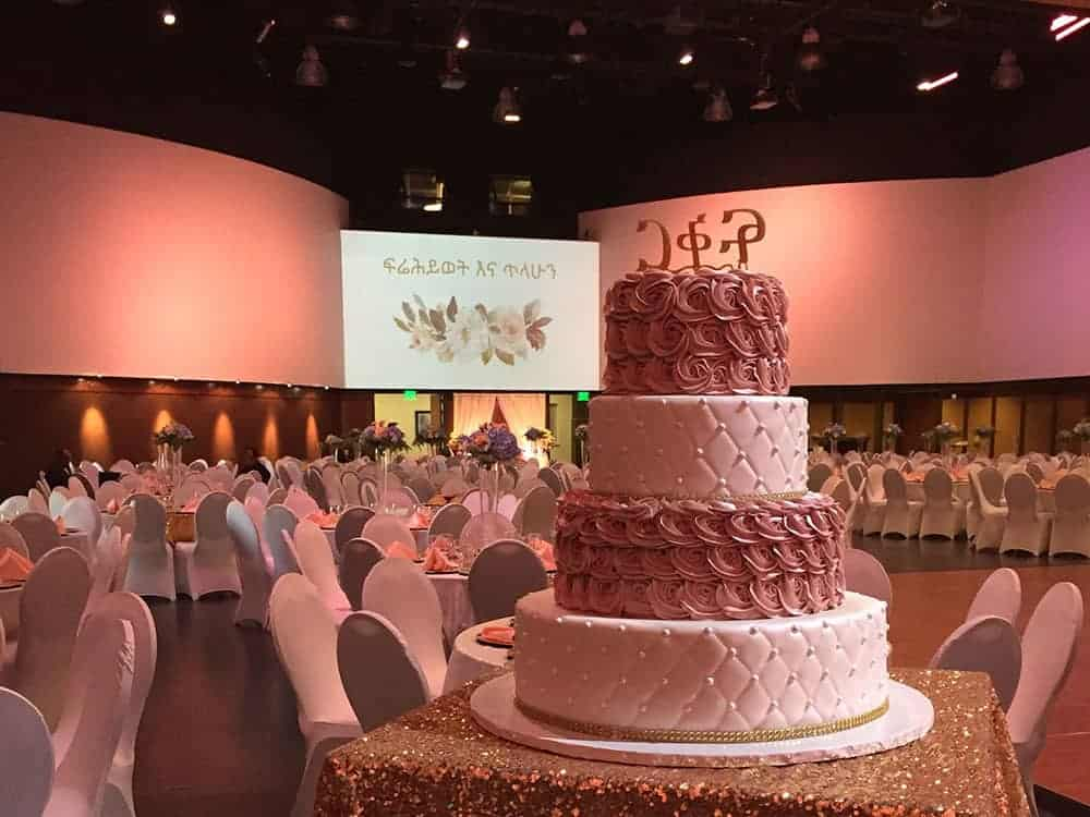Elevated Event: Frey-Semegn Wedding