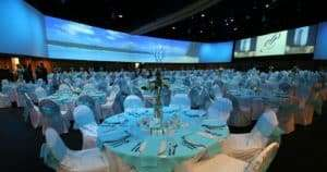 ballroom wedding at infinity park event center