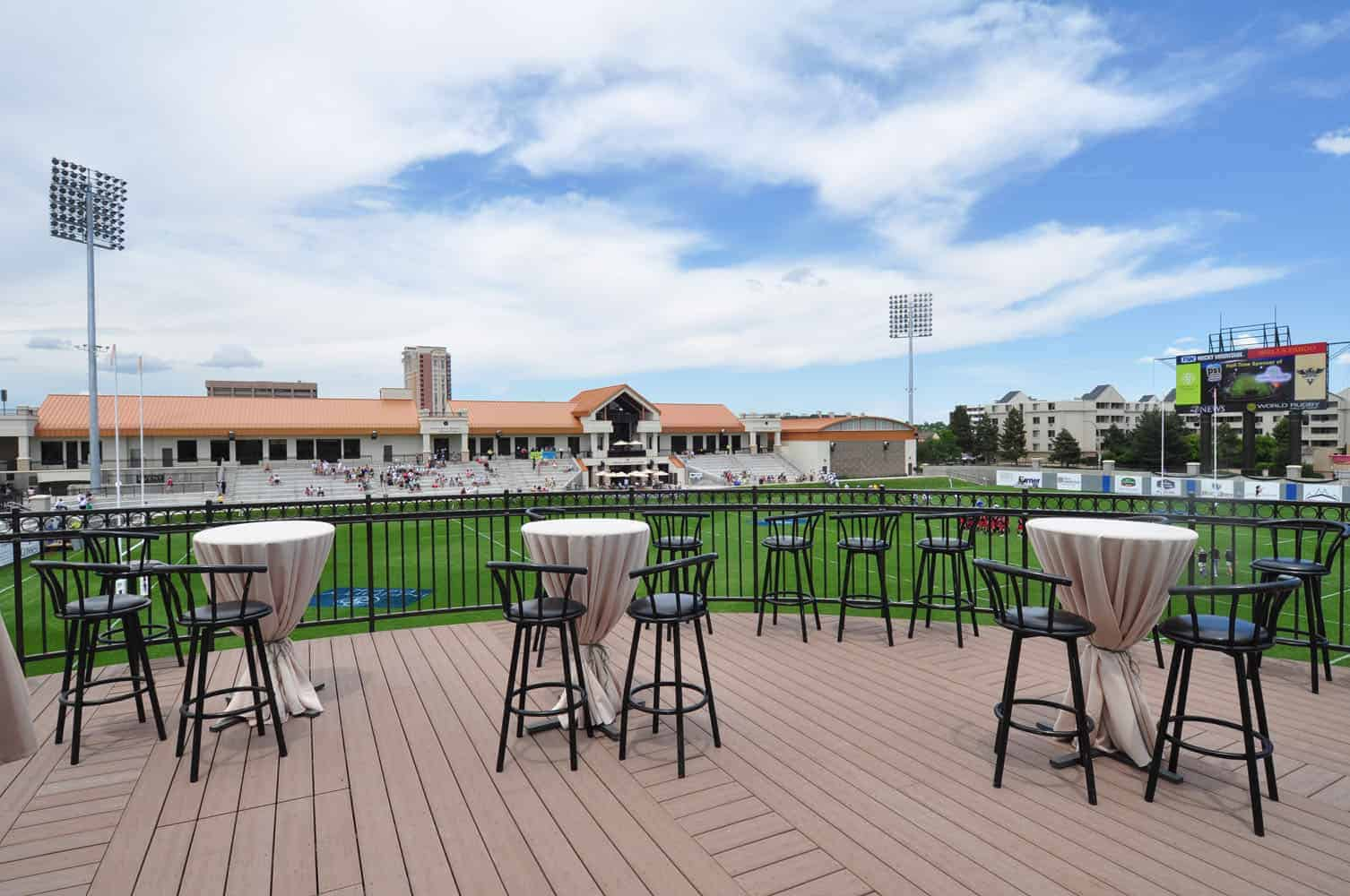 The Terrace Outdoor Event Space at Infinity Park